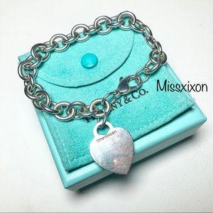 ❤️Tiffany & Co. Authentic Heart Tag Bracelet